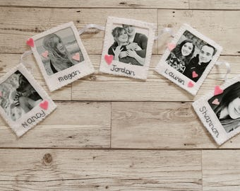 Polaroid bunting, photo bunting, personalised