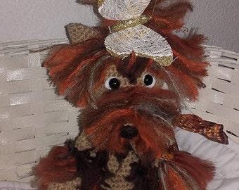 Little york crocheted wool, 30cm