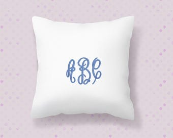 Opening Special Price!  Embroidery Monogram Font , 3 letter Machine Embroidery Font Alphabet, 3 sizes (1.5inch, 2.5 inch, 3.5 inch)