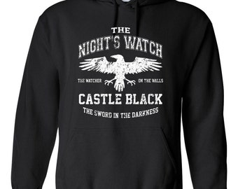 Join the Game to get Thrones Nights Watch Hoodie Sweatshirt Gift Jumper