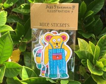 Mice Stickers