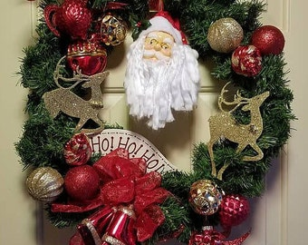 Santa Clause Wreath