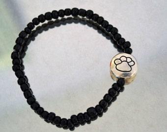 Paw Print Bracelet