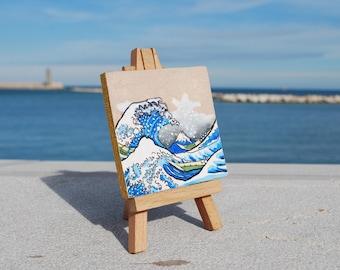 MINI painting Hokusai, gift