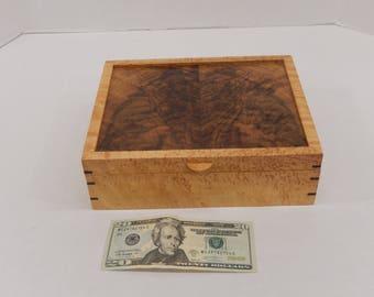 Wooden Jewelry or keepsake box