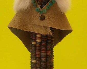 Whirling Rainbow Corn Maiden Katchina Doll
