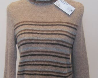 Alpaca pull over sweater