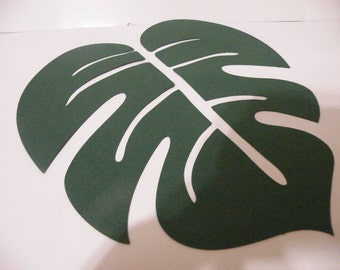 Cardstock palm leaf
