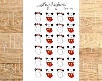 Polly Disney Lovers - planner stickers