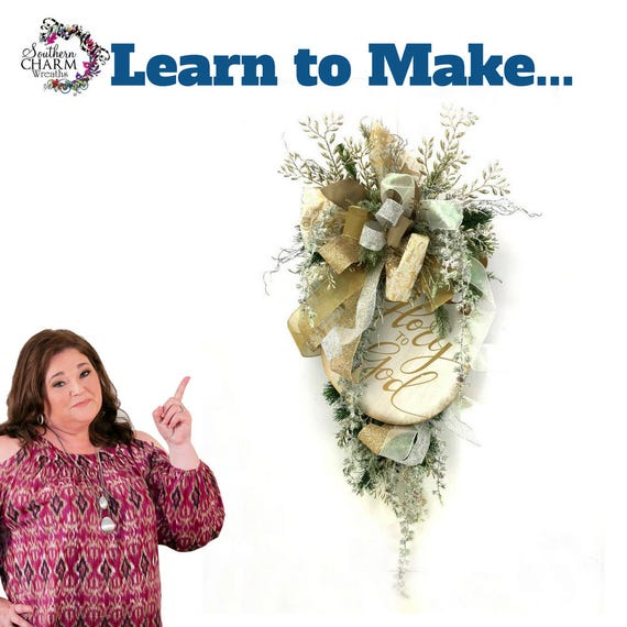 il_570xn - How To Make A Christmas Swag