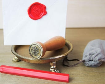 Renaissance Flower Wax Seal and Sealing Wax