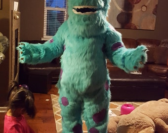 Sulley Monsters Inc Mascot Costume