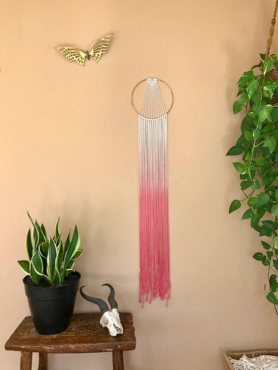 Sunburst Macrame Dream Catcher