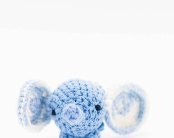 Elephant Stuffed Animal - Crochet Elephant Toy - Amigurumi Elephant - Baby Gift - Ornament