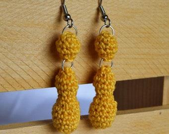 Goldenrod Raindrop Earrings