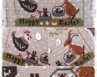 Happy Easter - PDF Cross Stitch Pattern