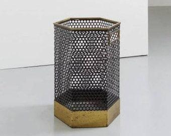 Paper basket by Velca 1960's