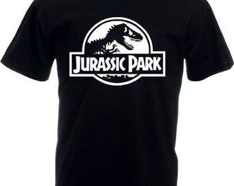 Jurassic Park Logo T-shirt - All Size/Various Colours