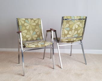 Vintage Chrome Chair – Restored Industrial Chairs