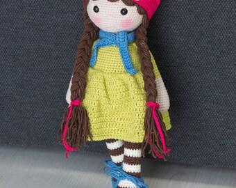 EMILY Crochet Doll - Amigurumi doll - Stuffed doll - Handmade doll - Interior doll - Crochet toy - Handmade toy - Baby Gift