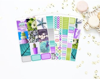 Imagination Weekly Kit || Erin Condren Vertical Planner || Planner Stickers
