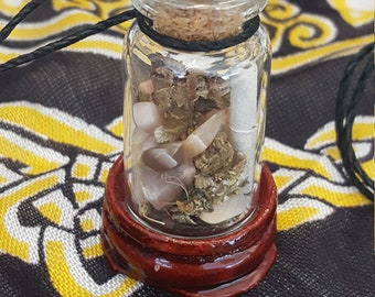 Magic Wicca Spell Sage Jar Protection