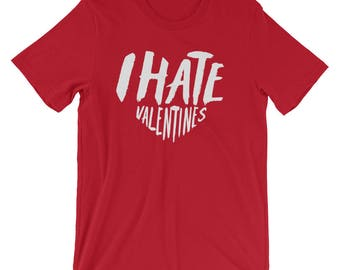 Ich Hasse Valentinstag T Shirt, Anti Valentinstag Geschenk, Lustige T
