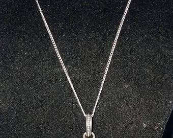 Carnelian in Sterling Silver Pendant