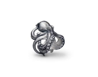 Octopus ring Sea octopus ring Octopus jewelry Devilfish ring Ocean Ring Sea jewelry Tentacle Animal jewelry Fisher Fisherman Fish gift