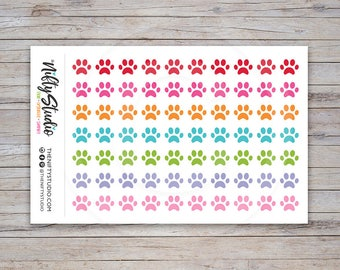 Paws Stickers | Vet Stickers | Planner Stickers | The Nifty Studio [146]