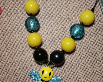Bumblebee Bubblegum Necklace