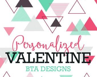 Personalized Valentine