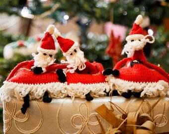 Juggling Santas Knitting Kit