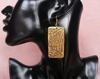 """Land of Sahara"" earrings"