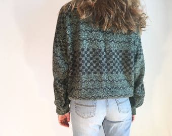 Vintage 90s Patterned Sweater
