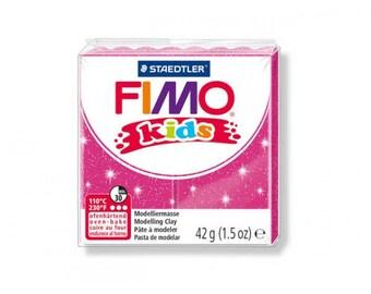Polymer Kids pink glittery no.262 - 42gr