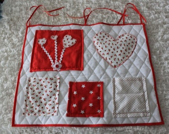 For baby cot tidy