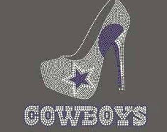 Dallas Cowboy heel transfer