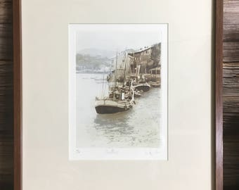 Signed Limited Edition Aquatint