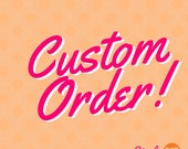 Custom Listing for Cheri - Personalized can huggers