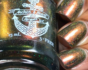 PREORDER ~ The Minister's Cat ~ Multichrome Holo Nail Polish