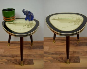 flower stool, side table, plant stand, coffee table | West Germany | 60s