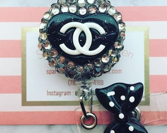 Chanel Inspired ID clip