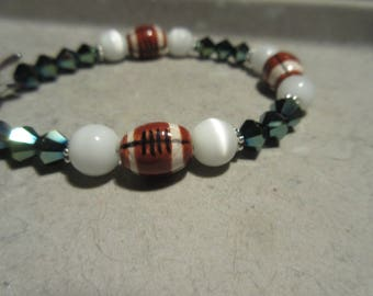 Philadelphia Eagles Inspired Bracelet