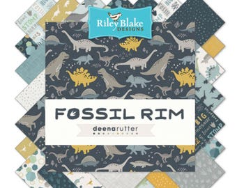 "5"" Stacker Fossil Rim by Deena Rutter  for Riley Blake Designs-42 Fabrics"