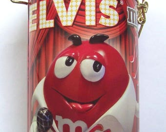 Singing Elvis M&M Collector's Tin