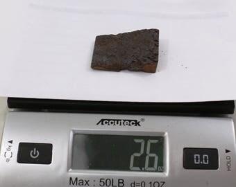 2.6oz CAMPO del CIELO Meteorite cut piece