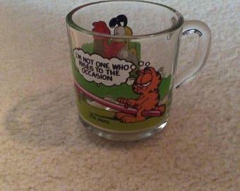 Garfield glass MUG