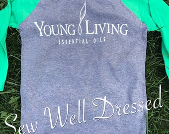 Essential Oil Shirt / Young Living Shirt / Young Living Essential Oils/ Crazy oil lady/ oily mom