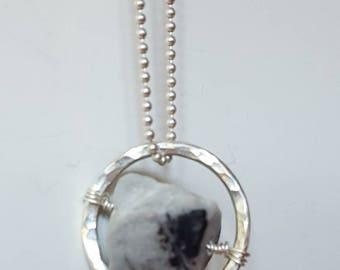 Strumplinks pendant with Jasper piece ~ OOAK